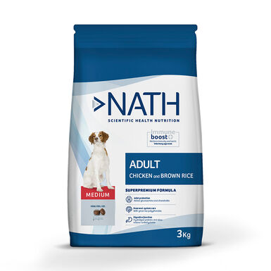 Pienso para perros Nath Adult Medium