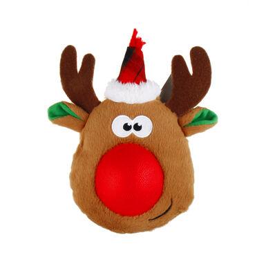 Juguete con pelota Reno de Guau Christmas para perro