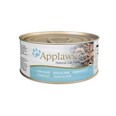 Pack 24 latas Applaws alimento húmedo para gatos 70 gr varios sabores con caldo