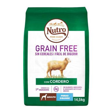 Nutro Grain Free Adult Large Breed Cordero 14,5 kg