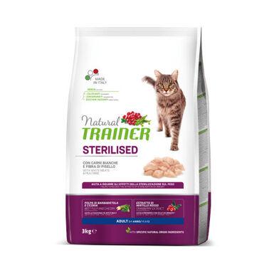 Natural Trainer Sterilised comida para gatos