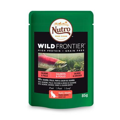 Nutro Wild Frontier gato salmón y pescado 4kg