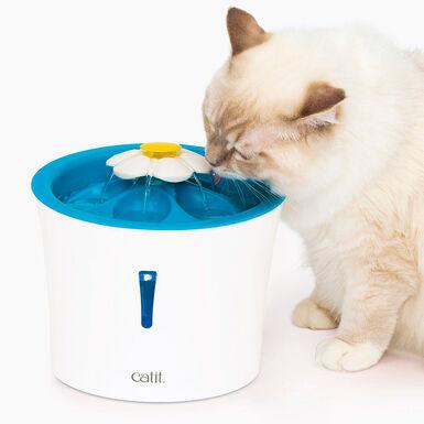 Bebedero fuente flor LED Cat It Flower Fountain 3 l