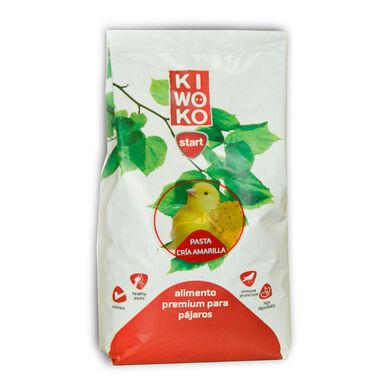Kiwoko Start pasta de cría amarilla premium para aves 1 kg