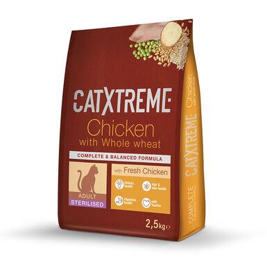 Catxtreme Comida para gatos Sterilised pavo y pollo