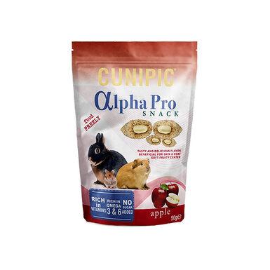 Snack de manzana Cunipic Alpha Pro Conejos y Roedores