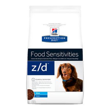 Hill's Prescription Diet Food Sensitivities Adult mini z/d