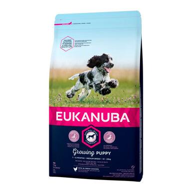 Eukanuba Puppy y Junior Medium 12 kg