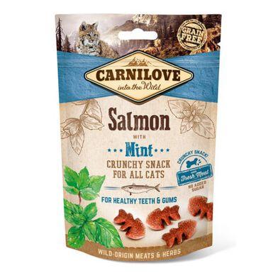 Carnilove Crunchy Snack Salmón snack para gatos