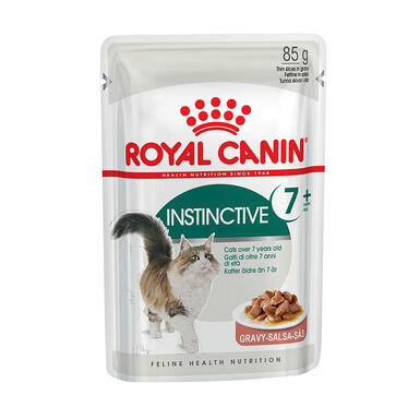 Pack 12 Sobres Royal Canin Feline Instinctive +7 85 gr
