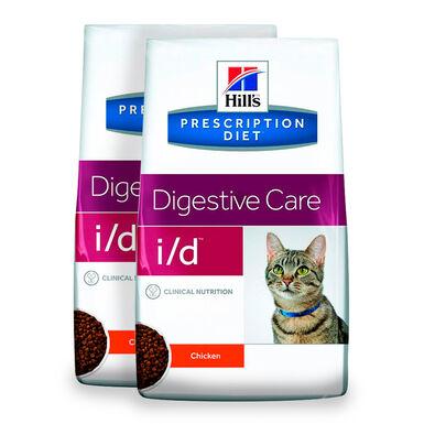 Hill's Feline Prescription Diet i/d - 2x5 kg Pack Ahorro