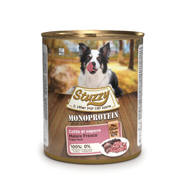Stuzzy Monoprotein Cerdo comida húmeda para perro