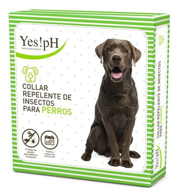 Yes!pH repelente de insectos collar para perros