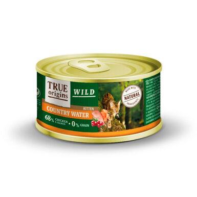 True Origins Wild Kitten lata Country Water 100 gr