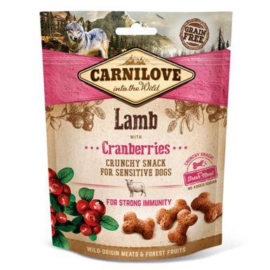 Carnilove Crunchy Snack Cordero snack para perros