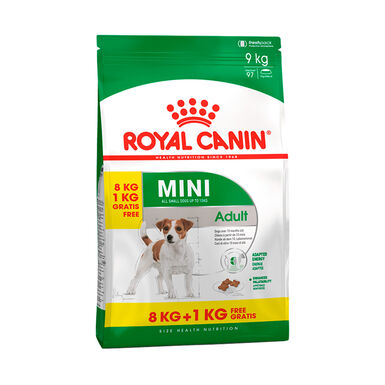 Royal Canin Mini Adult 9kg (8kg + 1kg gratis)