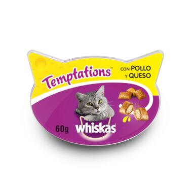 Whiskas Temptations 60 gr varios sabores