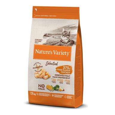 Nature's Variety Selected con pollo para gato esterilizado