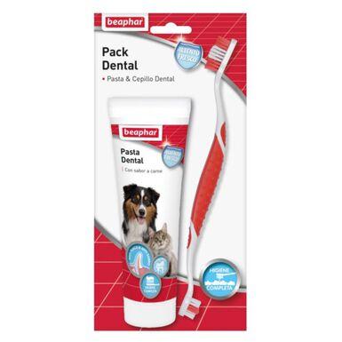 Beaphar kit dental pasta y cepillo para perros