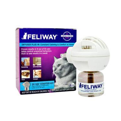 Difusor con recambio Feliway para gatos