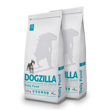 Dogzilla Adult pollo y arroz - 2x12 kg Pack Ahorro