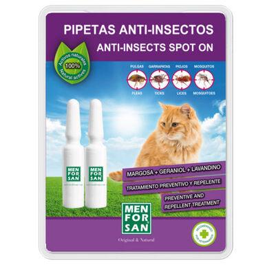 Menforsan pipetas naturales antiparásitos gatos