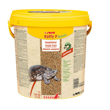 Sera Raffy P alimento para tortugas acuáticas