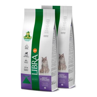 Libra Feline Sterilized - 2x15 kg Pack Ahorro