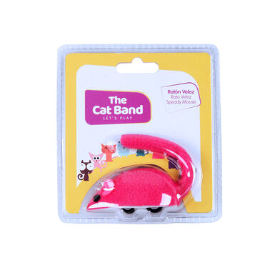 Juguete Speady Mouse The Cat Band para gato
