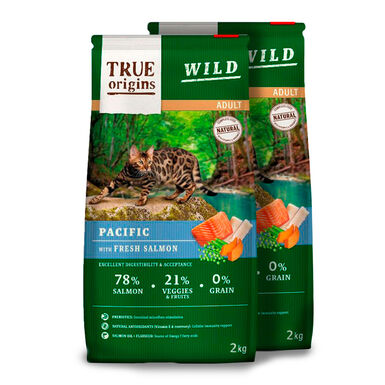 True Origins Wild Cat Adult Pacific - 2x2 kg Pack Ahorro