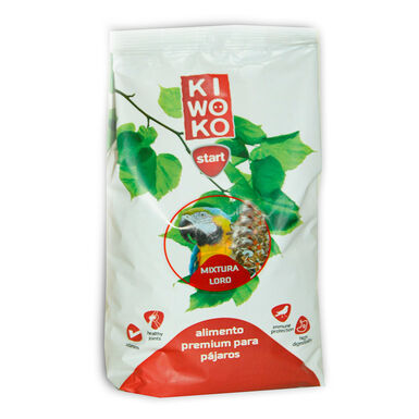 Gama Kiwoko Start Alimento Premium Mixtura para Loros 720 gr