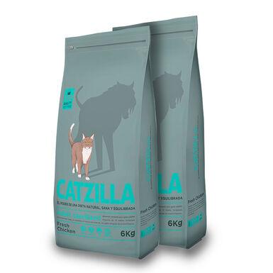 Catzilla Feline Adult Sterilised - 2x6 kg Pack Ahorro
