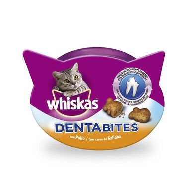 Whiskas Dentabites Pollo Snack para gatos