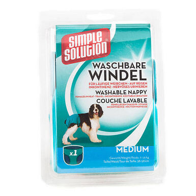 Simple Solution pañales perros braguitas lavables