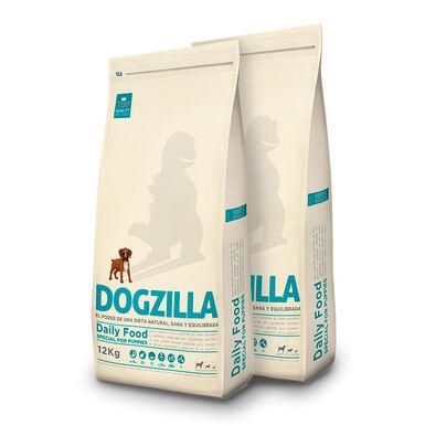 Dogzilla Puppy pollo y arroz - 2x12 kg Pack Ahorro