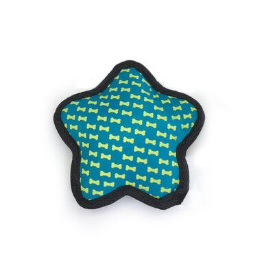 Juguete de peluche para perro Star Blue de Play & Bite