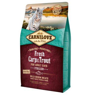 Carnilove Carp &Trout Sterilised pienso gatos