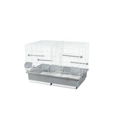 Voltrega 320 jaula para crías de pájaros 2 espacios