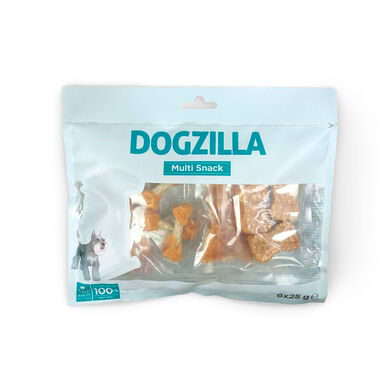 Multisnacks Dogzilla Pack 6 x 25 gr