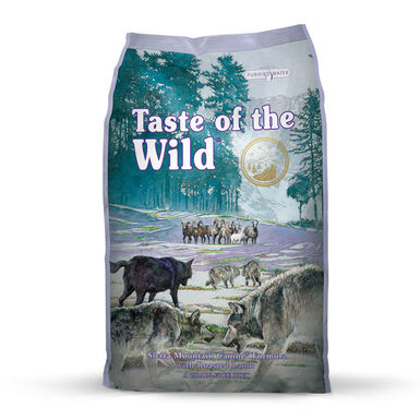 Taste of the Wild Sierra Mountain cordero