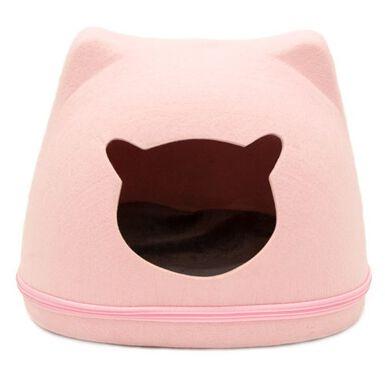 TK-Pet Federica cama cueva para gatos fieltro