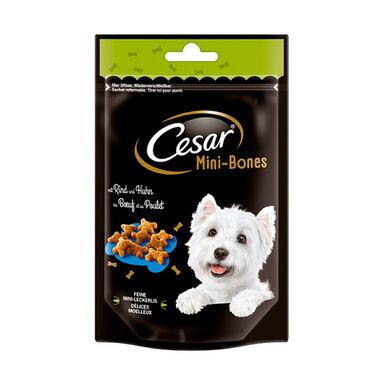 Pack 6 bolsitas Cesar Mini-Bones y Mini-Joys Snack para perros
