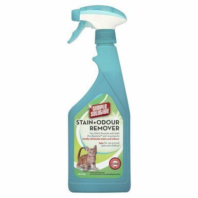 Simple Solution Extreme manchas y olores de gatos