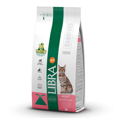 Pienso para gatos Affinity Libra Feline Adult salmón y arroz