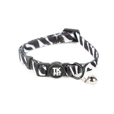 TK-Pet Safari collar para gatos con cascabel cebra