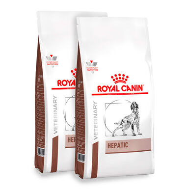 Royal Canin Veterinary Diet Hepatic - 2x12 kg Pack Ahorro