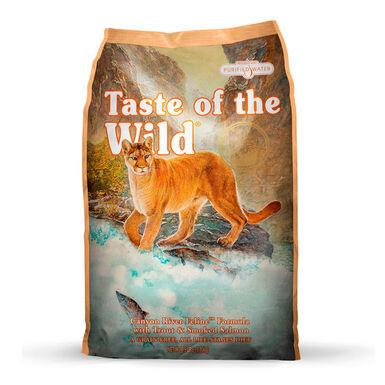 Taste of the Wild Feline Canyon River trucha y salmón