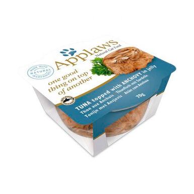 Pack 12 Tarrinas Applaws en gelatina para gato 70 gr