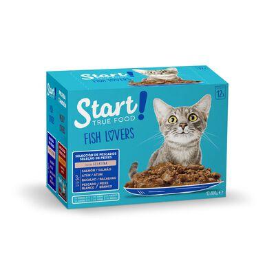 Sobres de comida húmeda Star Cat para gato 12 x 100 gr