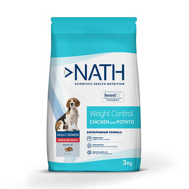 Pienso para perros Nath Adult Weight Control Medium/Maxi